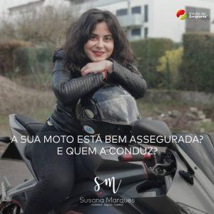 Exemplo de publicação para as redes sociais para Susana Marques
